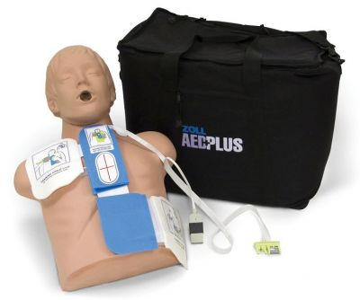 ZOLL AED Plus Demo Kit MANIKIN AND CPR DEMO PAD