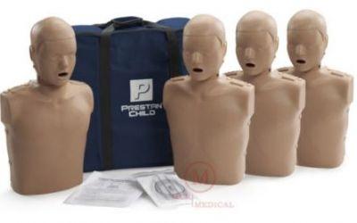 Prestan 4-Pack CPR Manikin (Child)