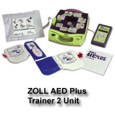 ZOLL AED (Automated External Defibrillator) Plus Trainer2 Unit