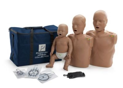Prestan CPR Manikin (Collection) Dark Skin