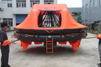25P TYPE DAVIT LAUNCHED LIFERAFT