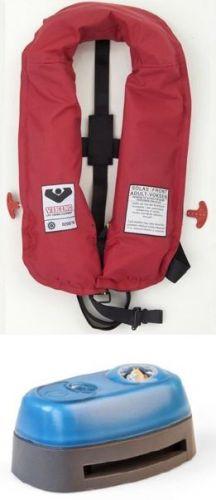 PV9320 VIKING SOLAS Inflatable Life Jacket, 180 N