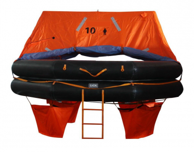 Man Throw Overboard Inflatable Liferaft ●Model: DYA-ATOB-10 Person
