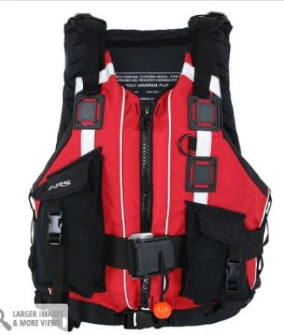 NRS Rapid Rescuer PFD Universal Size Color Red
