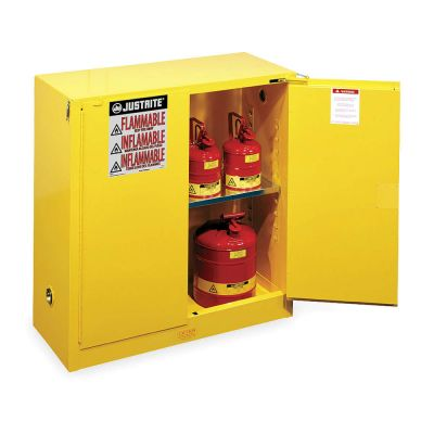Justrite Safety Cabinet, For Flammables (Model 893020)