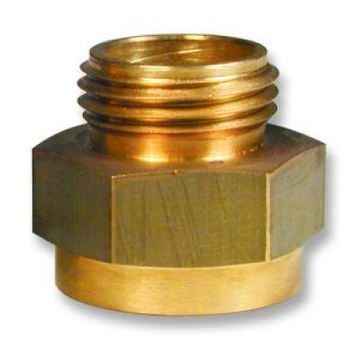 "Brass Hose Adapter 1""IPT F X 1""MNST"