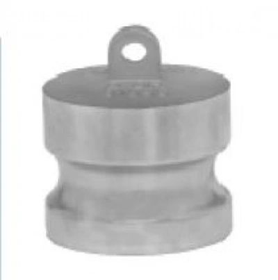 "4"" Aluminum dust plug, type DP,Evertite brand,made in USA."