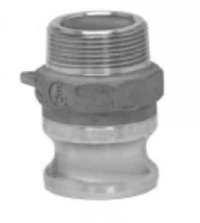 """4"""" Type F camlock male adapter,male thread,Taiwan made"""
