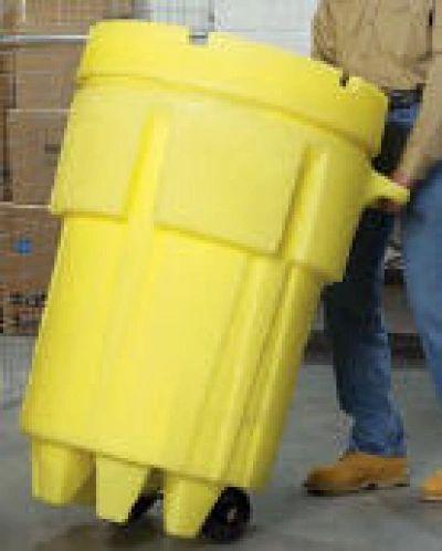 HAZMAT Spill Kits - 95 Gallon Clean-Up Response Kit with wheels