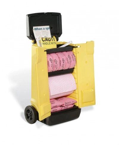KIT 344 PIG® HazMat Spill Kit in High-Visibility Cart