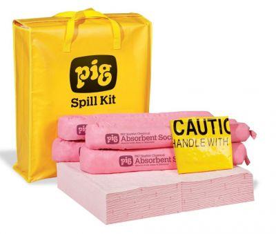 KIT 320 PIG® HazMat Spill Kit in High-Visibility Bag