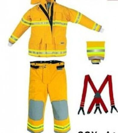 CEOSX1000 Fire Suit GOLD (X-Large)