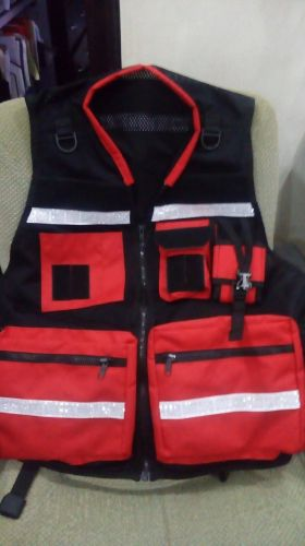 FIRE RESCUE EMERGENCY RESPONDER TEAM VEST
