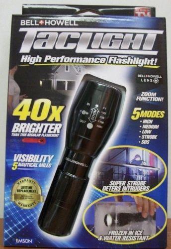 Bell-Howell Taclight High Powered Flash Light