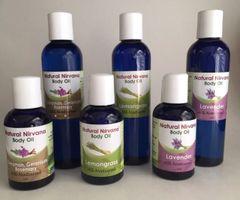 Body/Massage Oil Large Lemongrass
