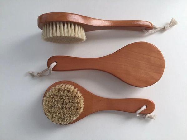 Plant Bristled Body Brush