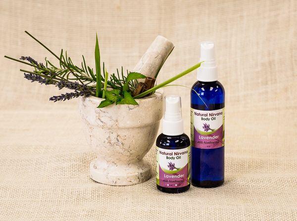 Body/Massage Oil Small Lavender