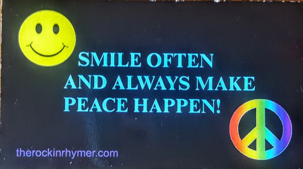 Smile and Peace Magnet