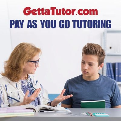 Math tutor helping student with homework