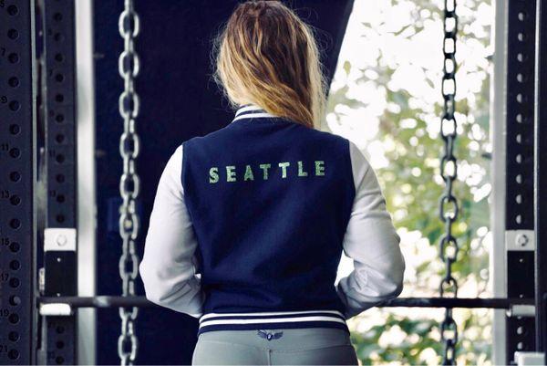 FLY Letterman Jacket (Customize) unisex