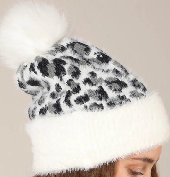 Cheetah beanies (customize w bling)