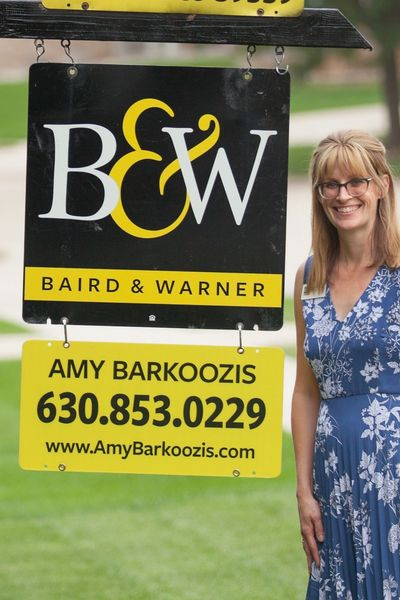 Let me help you realize your American Dream. Licensed Real Estate Agent Amy Barkoozis 630-853-0229 Available programs I offer, Military on the Move® for active as well as veterans Baird & Warner First Responder Senior citizen credit Relocation help from a qualified real estate agent