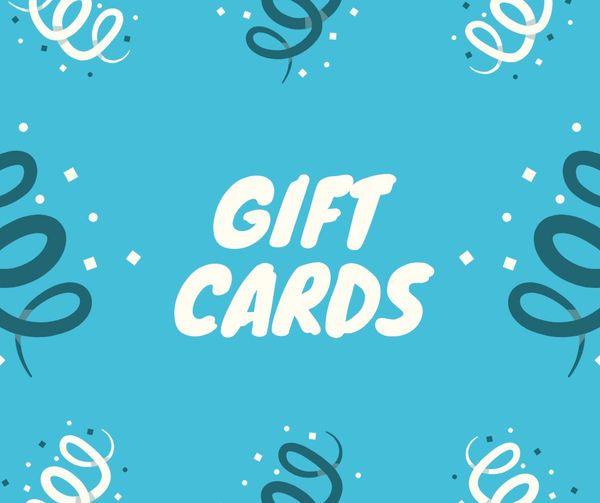 Bon Von Gifts Cards!