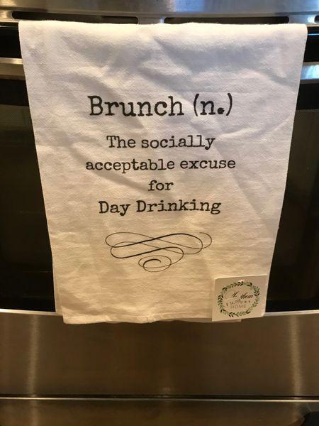 Brunch Tea Towel
