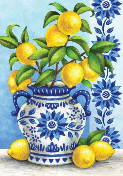 Blue Willows & Lemons