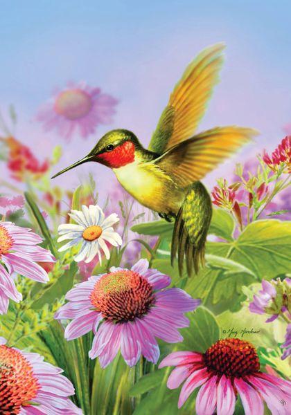 Hummingbird Flag