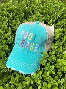 Pool Please Hat