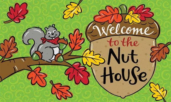 Nut House Floor Mat