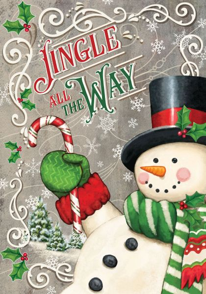 Jingle Snowman