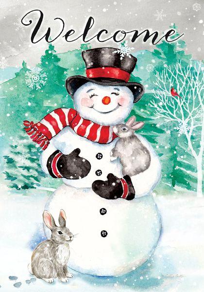 Snowman Bunnies