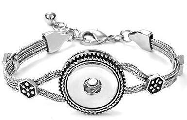 1-Snap Heritage Chain Bracelet