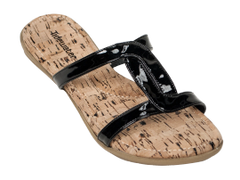 Tidewater Flip Flops- Black Slip On