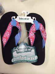Tidewater Flip Flops- Flower
