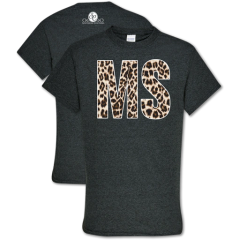MS Leopard Southern Couture T-shirt