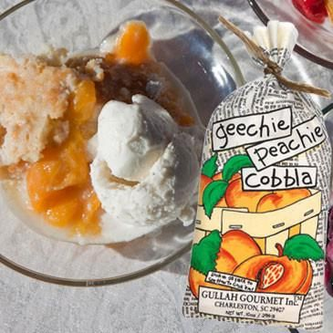 Peach Cobbler Gullah Gourmet