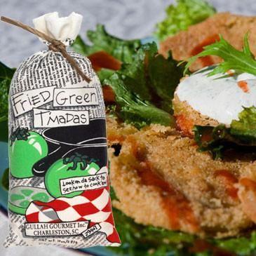 Gullah Gourmet Fried Green Tomoatoes