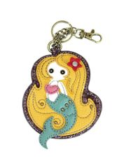 Chala Blonde Mermaid Key Chain
