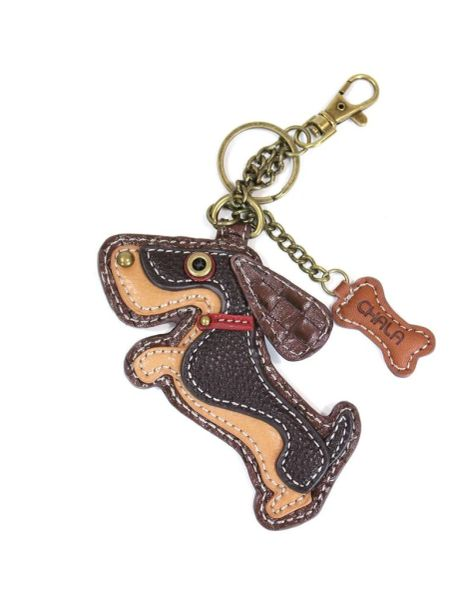 Chala Weiner Dog Key Chain