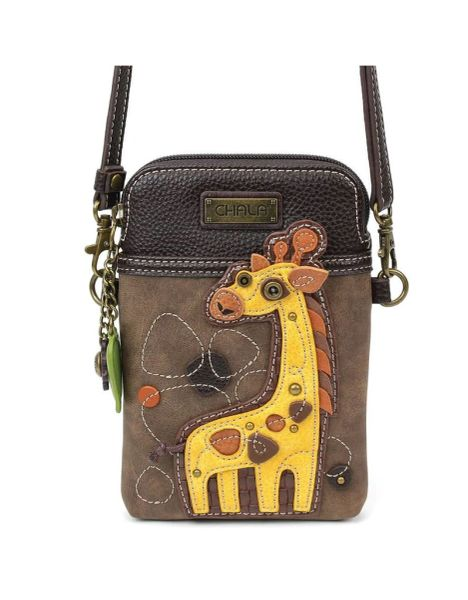 Chala Giraffe Cell Phone Bag