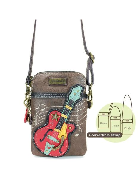 Chala Guitar Phone Cross Body