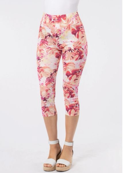 Paradise Printed Cropped Leggings