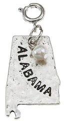 Alabama Charm Silver