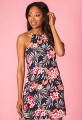 Mommy & Me Floral Print Dress-Adult