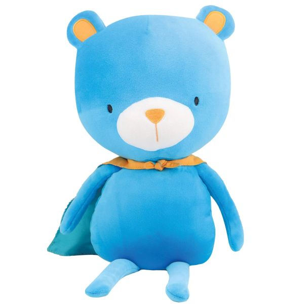 Bear the Bear with autism puzzle cape