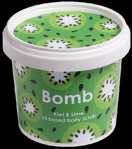 Kiwi & Lime Oil Based Body Scrub
