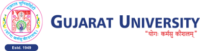 Gujarat University Logo